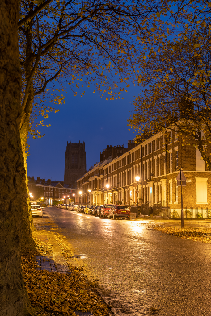 Canning Street, Liverpool at night